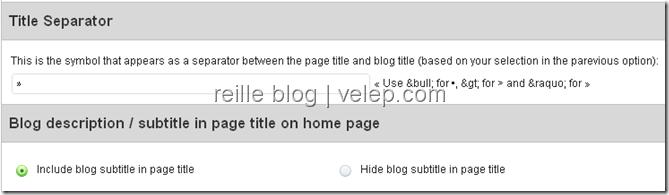 关于网站副标题显示配置的选项